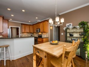 Hillman Real Estate Group: Craftsman Home in Wake Forest: Eat-In Kitchen