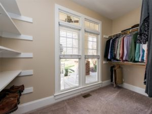 Hillman Real Estate Group: Lots of closet space in this craftsman home in Wake Forest