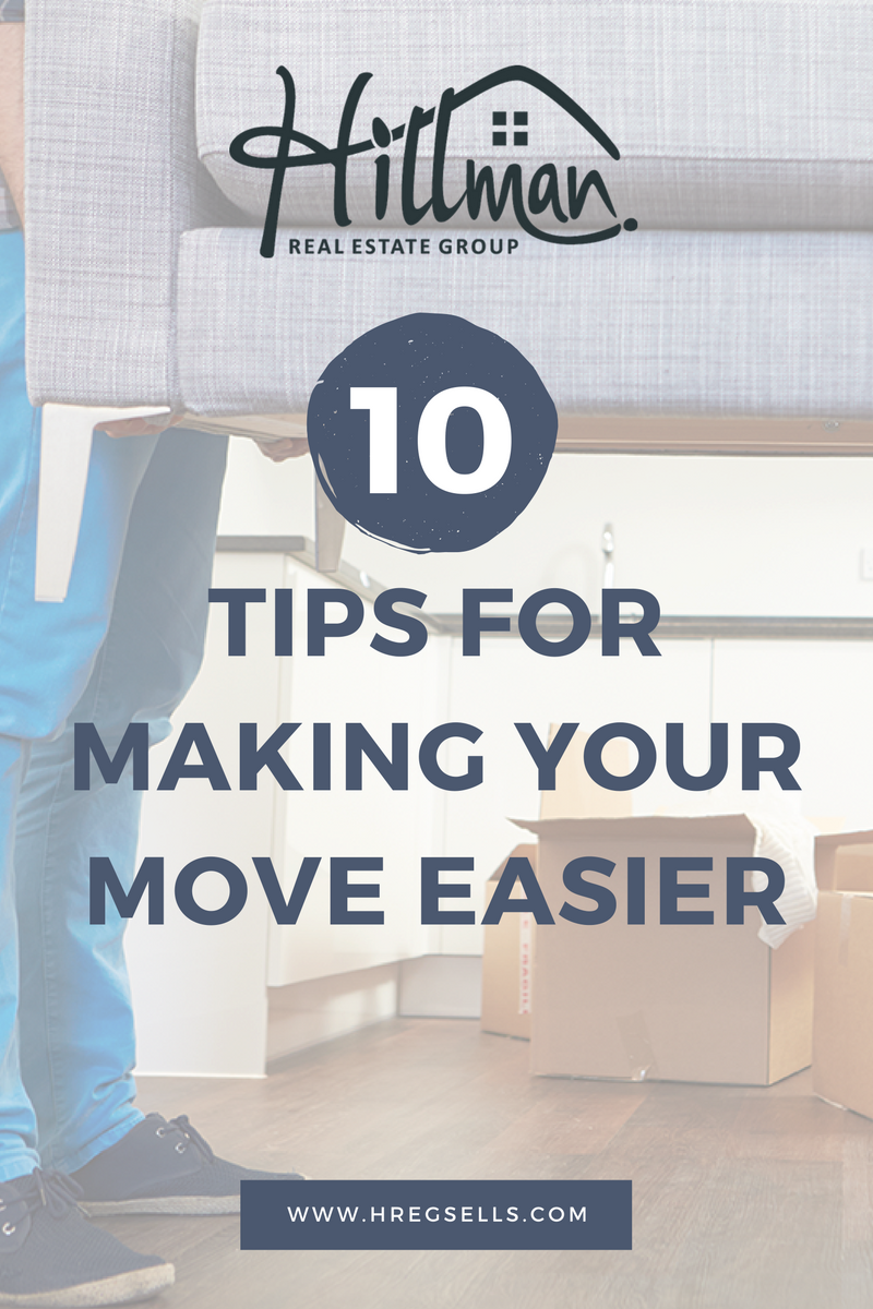 10 tips to make your next move easier renee hillman for Moving into a new build house tips