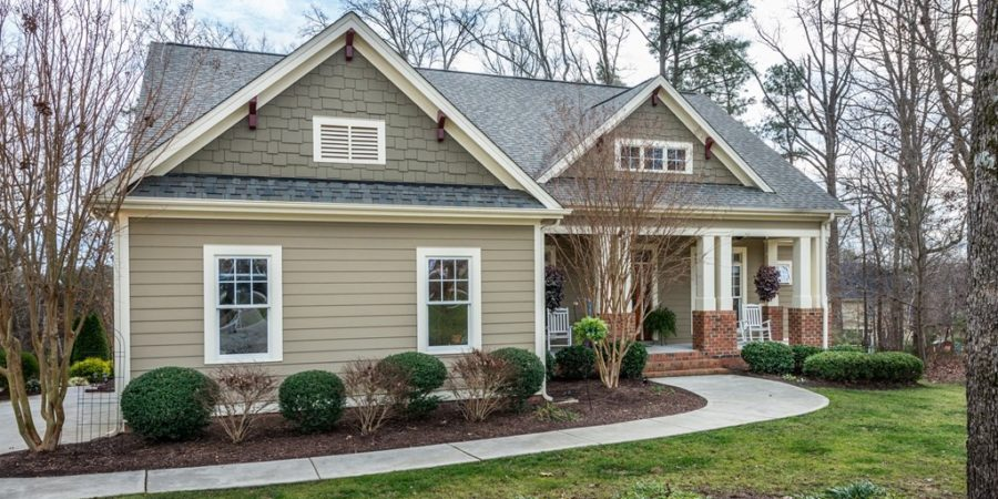 Sold: Arts & Crafts Home on Deep Cul-De-Sac Lot in Wake Forest