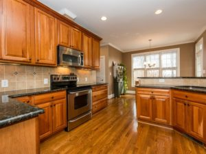 Hillman Real Estate Group - Craftsman Home in Wake Forest: Open Kitchen