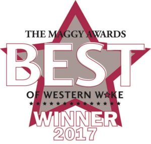 Renee Hillman selected to 2017 Maggy Awards by Cary Magazine readers.
