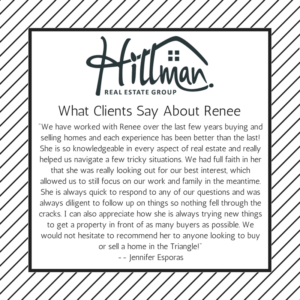 Hillman Real Estate Group - Review of Renee Hillman