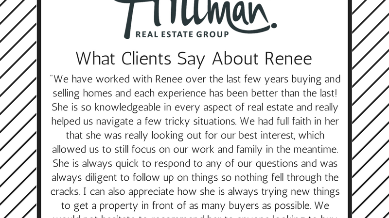 What Clients Say About Renee: Jennifer Esporas