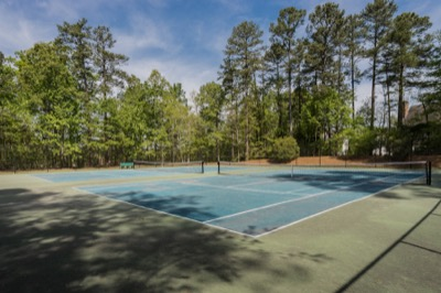 Neighborhood Amenities in Weatherstone: Tennis