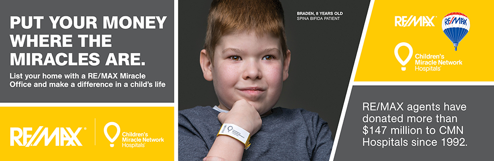 RE/MAX Supports the Children's Miracle Network