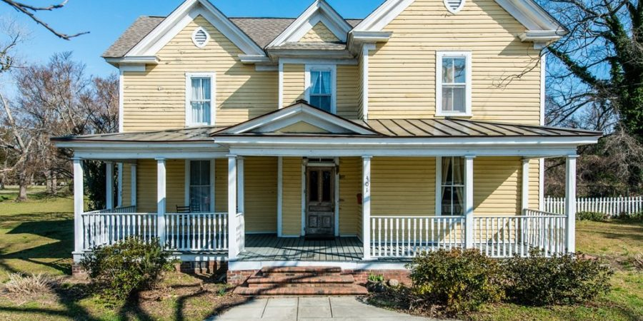Sold: Queen Anne-Style Homestead in Garner