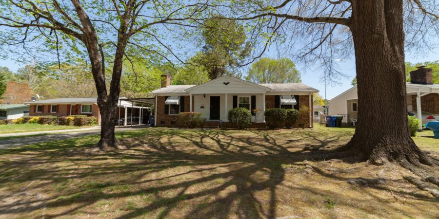 Sold: 3 Bedroom Timeless Ranch Near Downtown Raleigh and Crabtree Creek