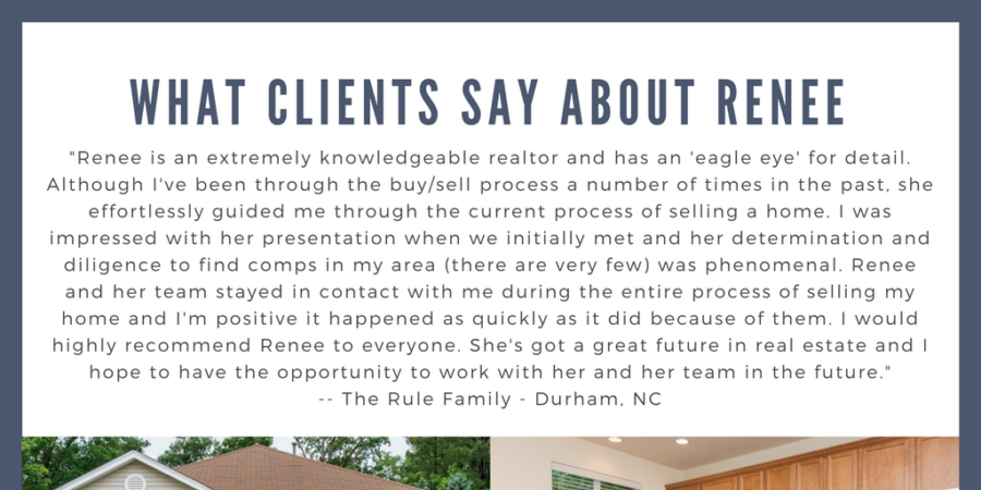 What Clients Say About Renee: The Rule Family