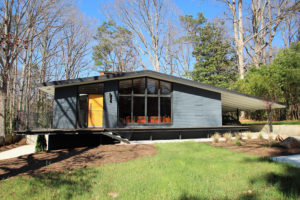 Hillman Real Estate Group - Raleigh modernist home for sale - Ocotea