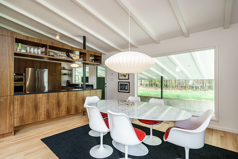 hillman real estate group - raleigh modernist home for sale - 013_Dining Room - Ocotea