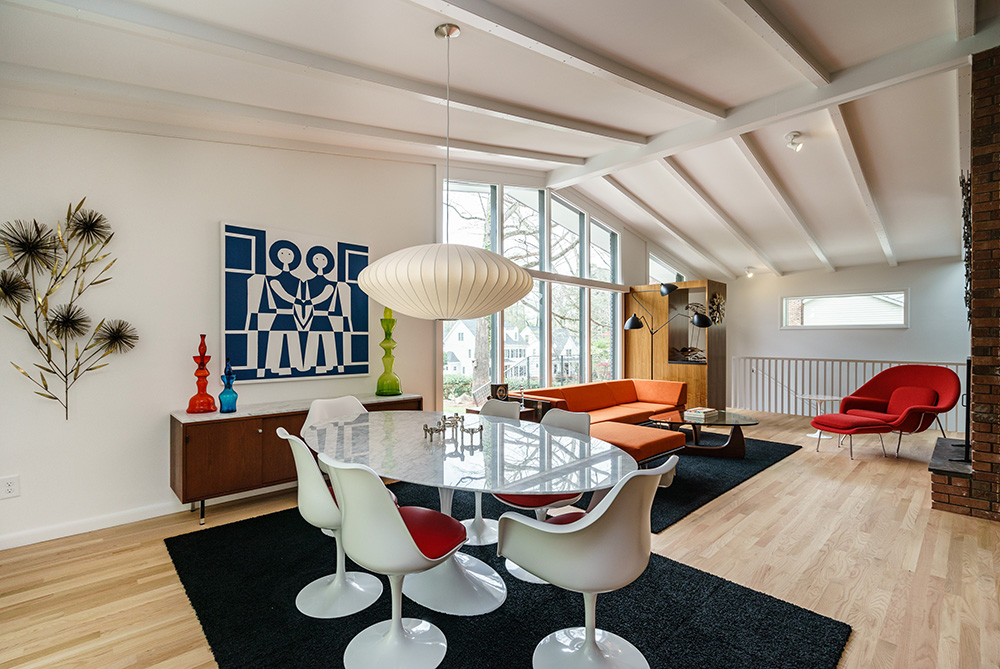 hillman real estate group - raleigh modernist home for sale - 014_Dining Room - Ocotea
