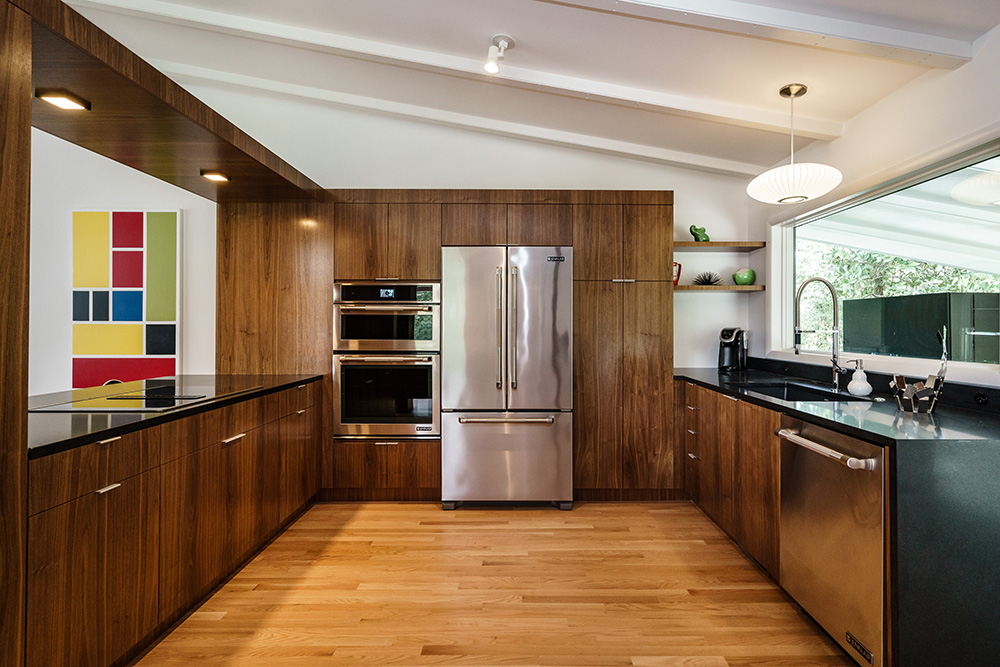 Modernist home Raleigh - Hillman Real Estate Group - Ocotea