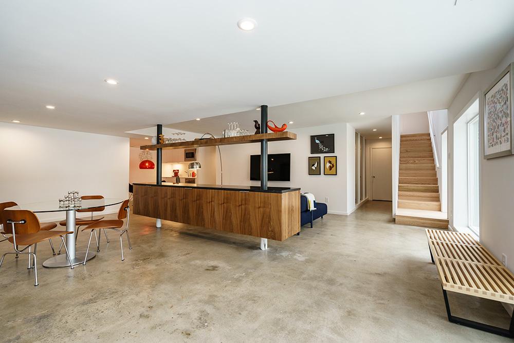 Modernist home Raleigh - Hillman Real Estate Group Ocotea