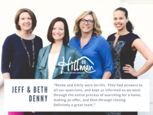 Renee Hillman realtor - Emily Link realtor - reviews - Hillman Real Estate Group - Raleigh
