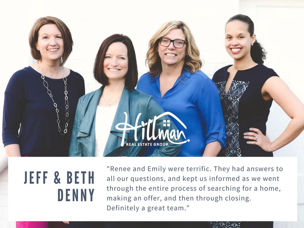 Renee Hillman realtor - Emily Link realtor - reviews - Hillman Real Estate Group - Raleigh