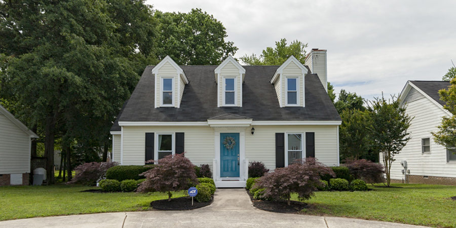 Sold: Charming 3 Bedroom Cape Cod in Fuquay-Varina
