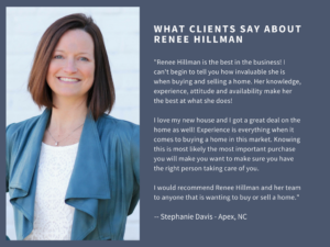 Renee Hillman real estate agent review