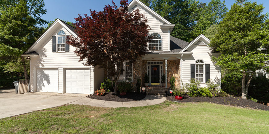 Under Contract: Holly Springs Home with Walkout Basement