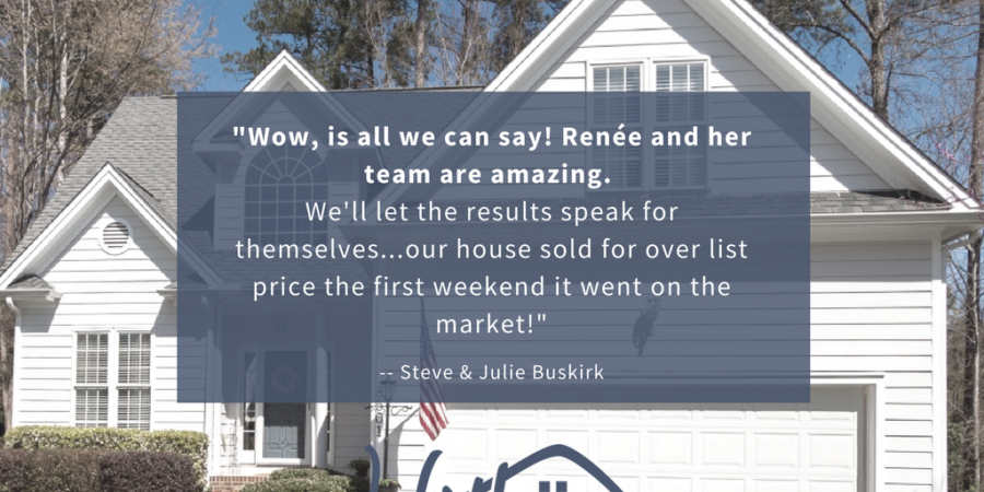 What Clients Say About Renee: Steve and Julie Buskirk