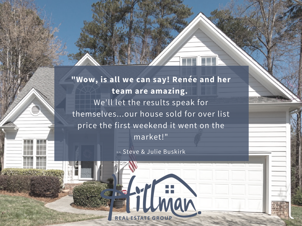 Renee Hillman realtor reviews - North Raleigh
