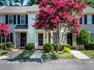 Hillman Real Estate Group - Raleigh townhouse for sale - Crabtree