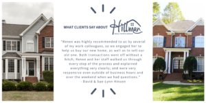 Review of Renee Hillman and Hillman Real Estate Group in Raleigh, NC