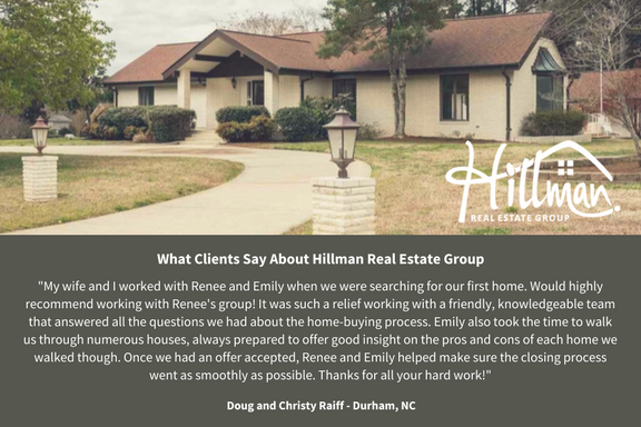 What Clients Say About Renee: The Raiffs