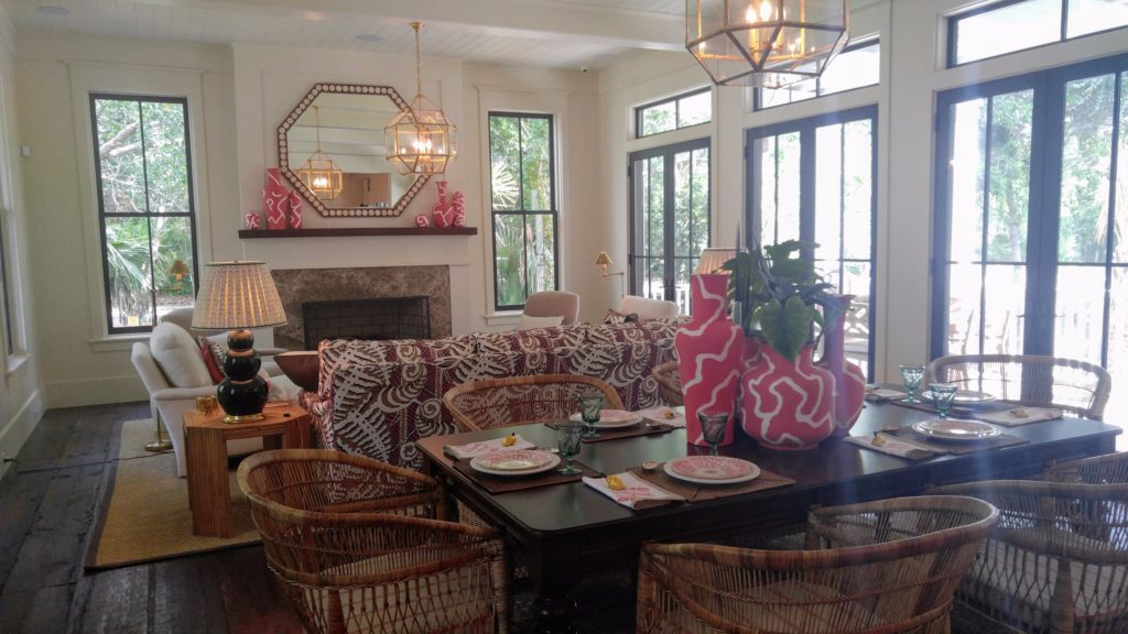 Renee Hillman visits Southern Living Idea House Bald Head Island