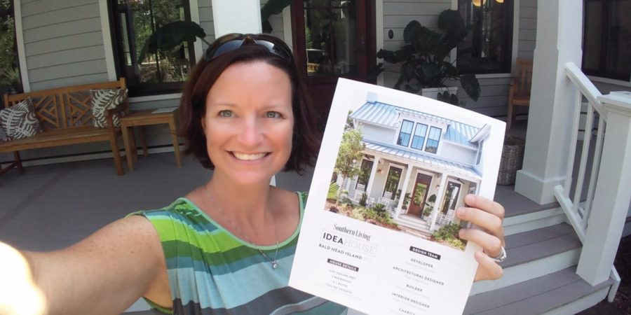 Renee Visits Southern Living's 2017 Idea House at Bald Head Island