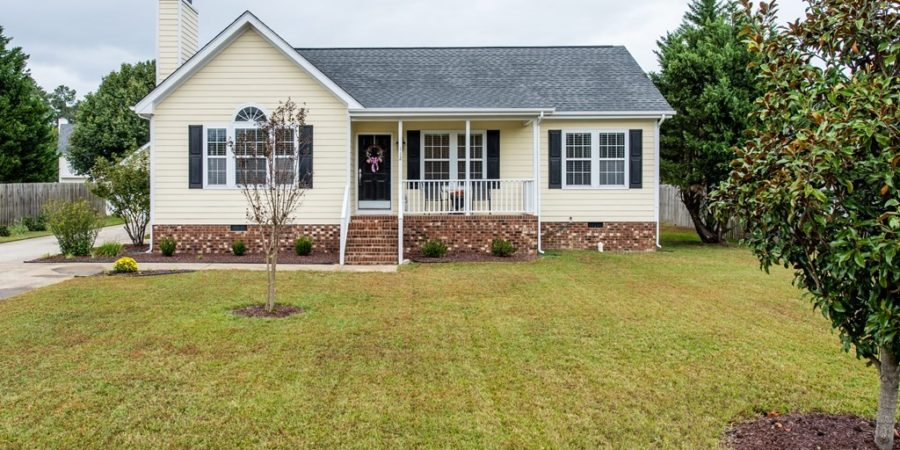 Three Bedroom Holly Springs Ranch