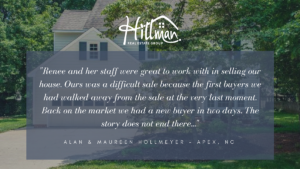 Renee Hillman realtor reviews