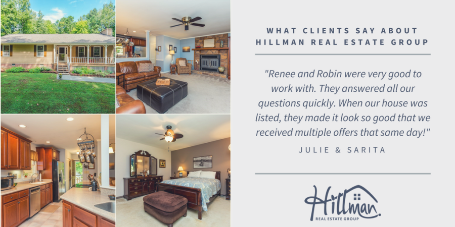 What Clients Say About HREG: Julie & Sarita in Youngsville