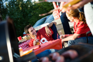 NC State Football Tailgating in Raleigh