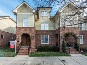 Now Showing: Three Bedroom End-Unit Townhome in Downtown Raleigh