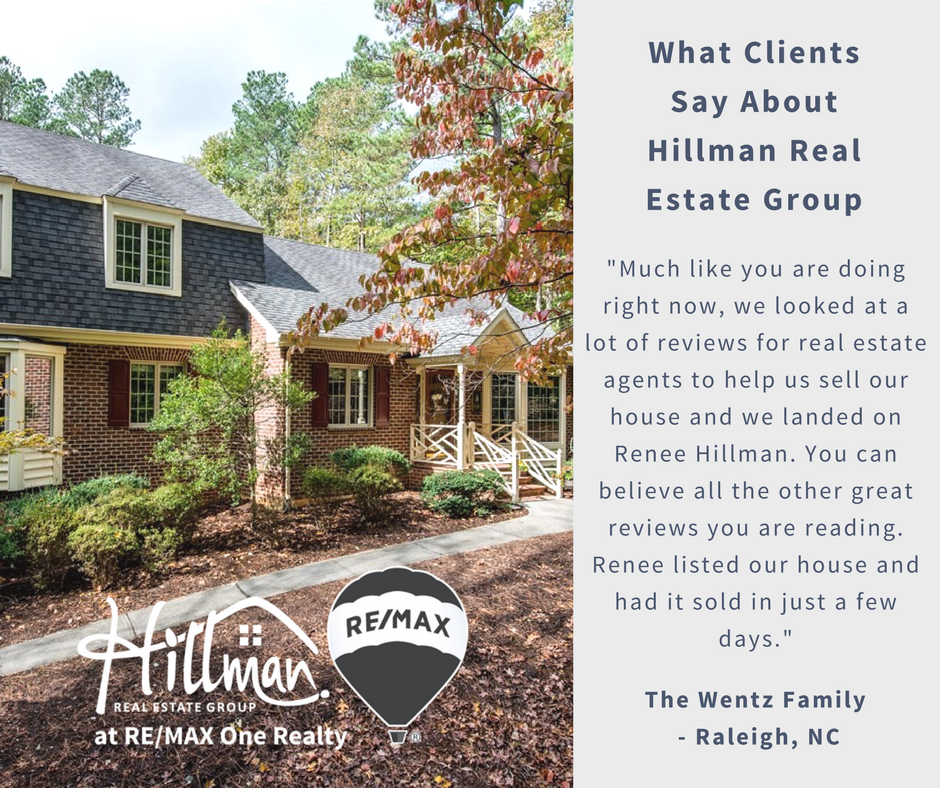 Renee Hillman real estate broker reviews