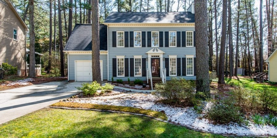 Under Contract: Four-Bedroom Traditional with Boho Vibe in Durham's Woodcroft