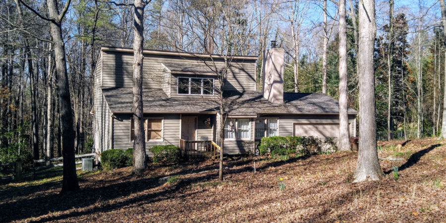 Under Contract: Three Bedroom Rare Find – Almost an Acre in Raleigh
