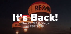 RE/MAX Stage is back at Freedom Balloon Fest 2018