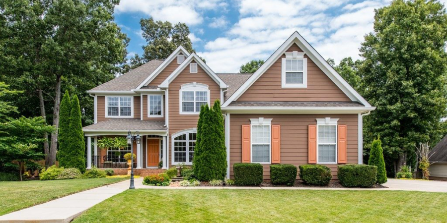 Now Showing: Stately Five Bedroom Wake Forest Executive Home