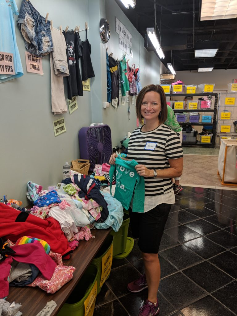 Hillman Real Estate Group volunteering at Note in the Pocket