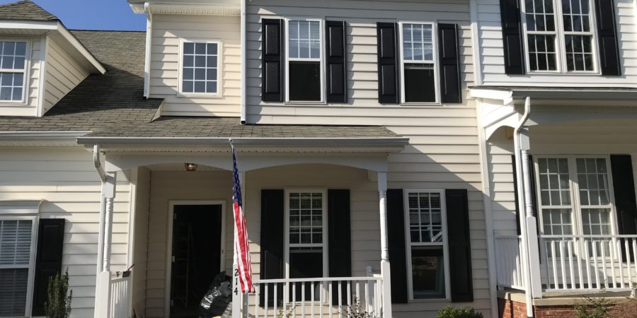 Three Bedroom Townhouse Near Downtown Wake Forest
