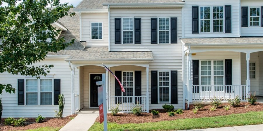 Under Contract: Three Bedroom Townhouse Near Downtown Wake Forest