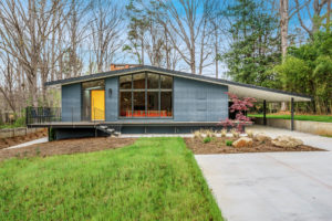 Raleigh ITB modernist house sold by Hillman Real Estate Group's Renee Hillman Ocotea
