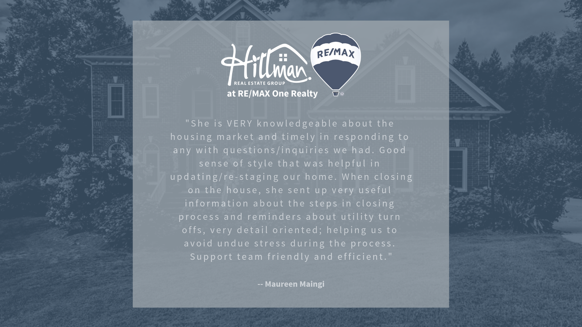 Renee Hillman Real Estate Reviews