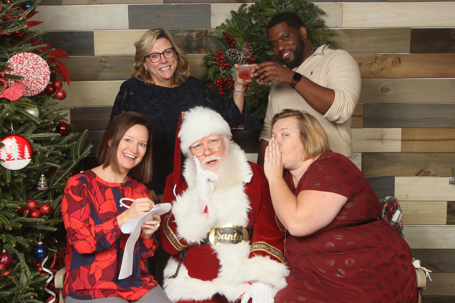 Santa visits HREG