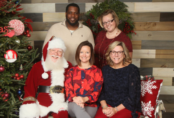Hillman Real Estate Group Brunch with Santa