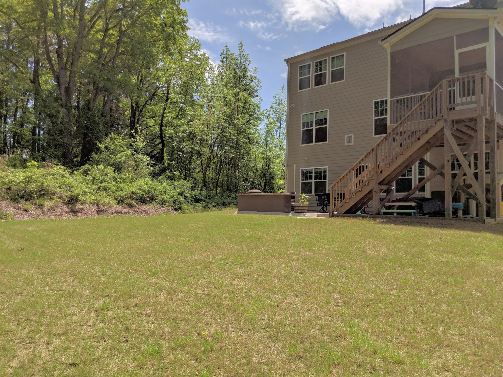 2051 Stanwood Apex - Hillman Real Estate Group - Back Yard