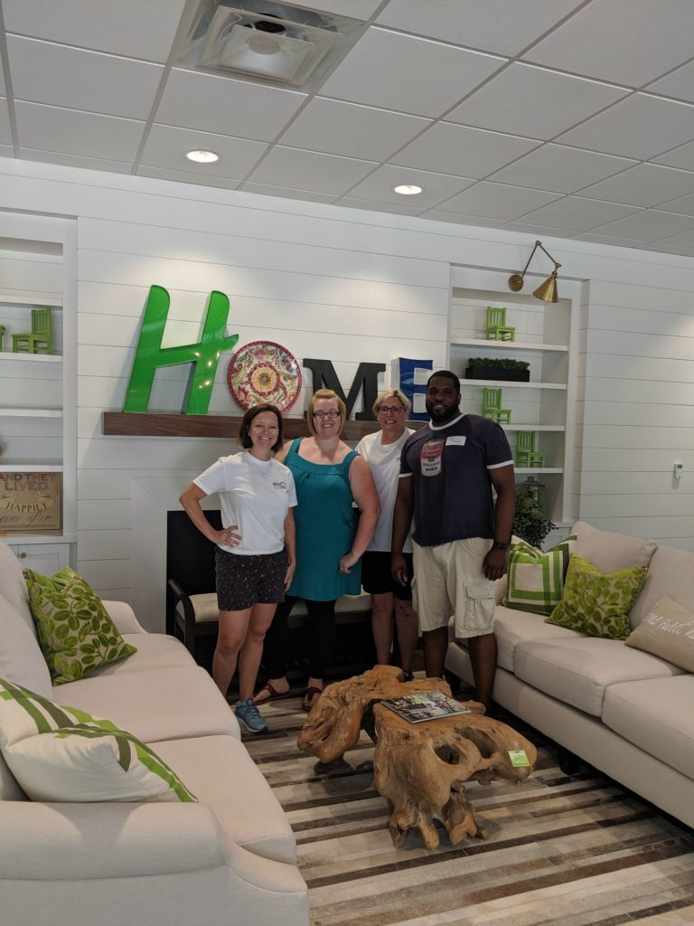 NC Realtors Give Back Day Hillman Real Estate Group at The Green Chair Project