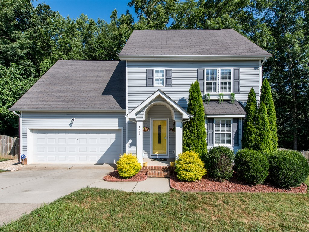 Hillman Real Estate Group 108 Back Woods Circle Holly Springs Home for Sale